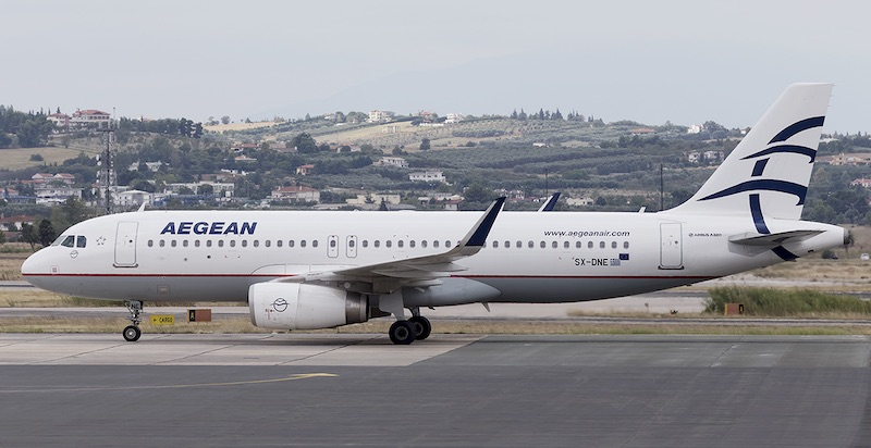 Aegean Airlines ταξιδιωτικοί περιορισμοί