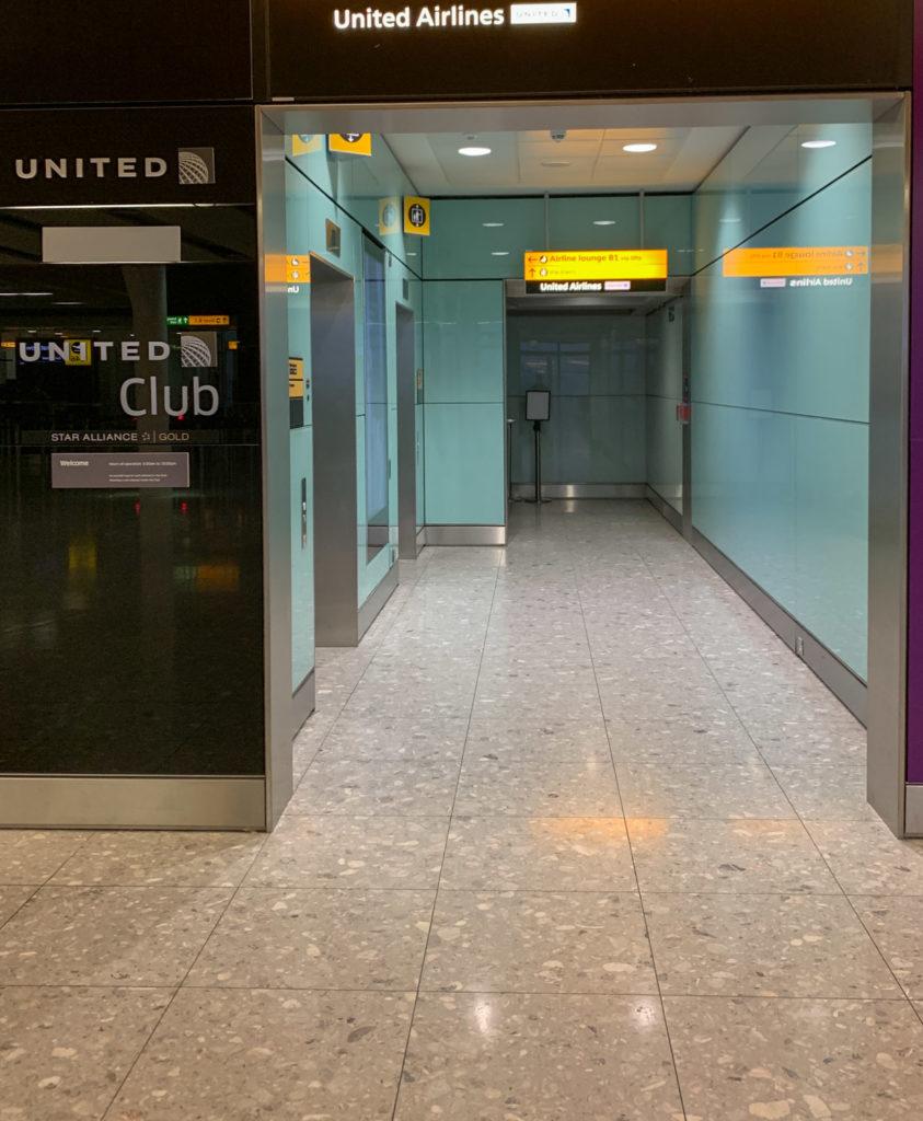 United Club Lounge, London Heathrow Terminal 2