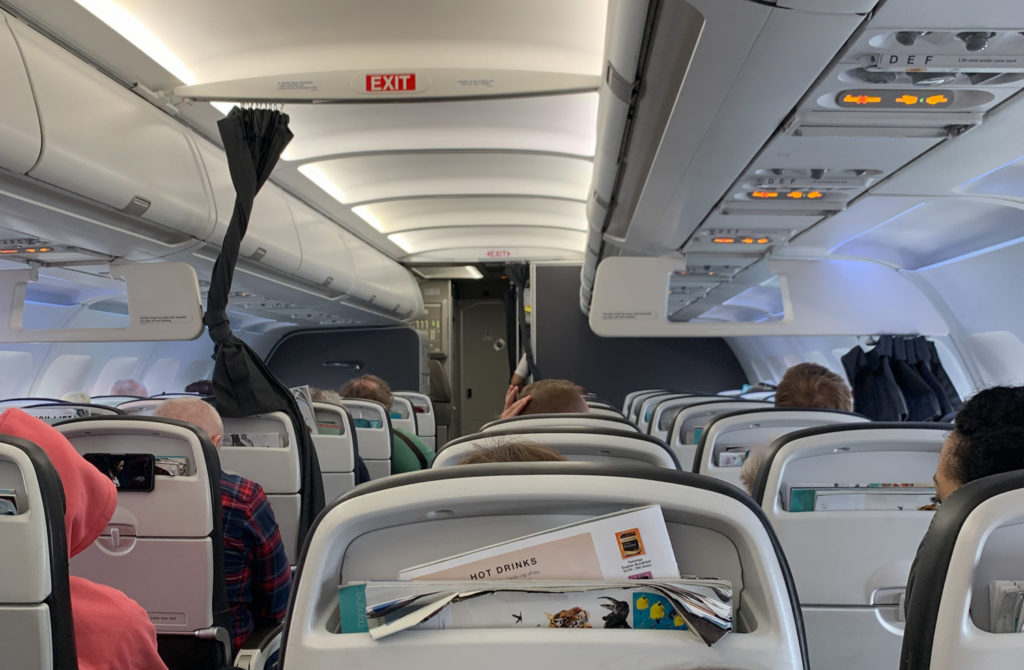 British Airways economy class
