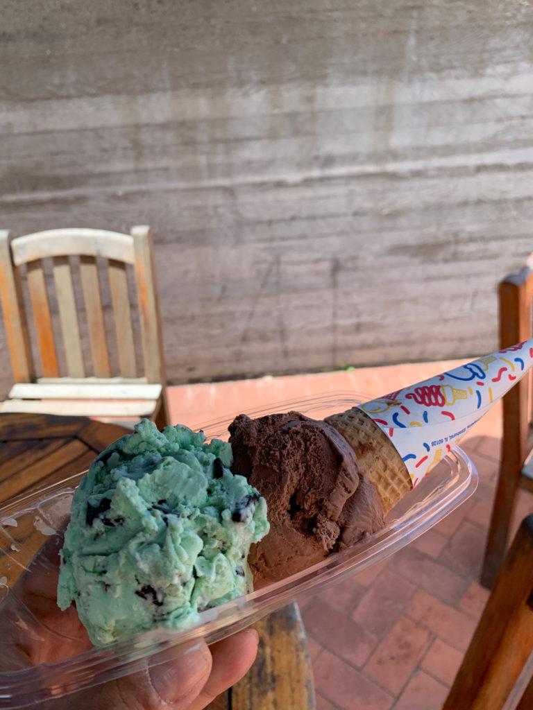 San Fransisco Ghirardelli Ice Cream