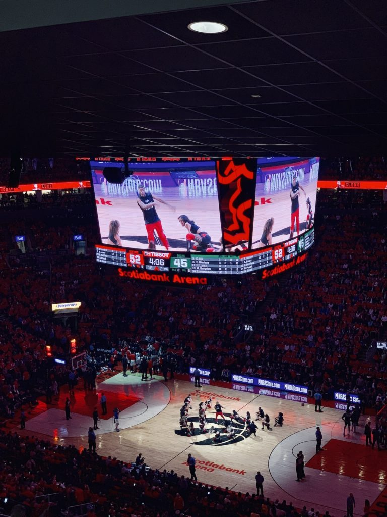 Scotiabank Arena, the home of the Toronto Raptors!