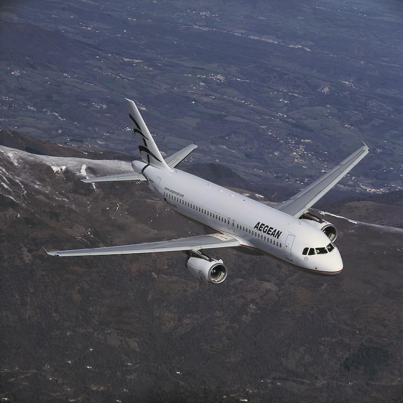 Aegean Airlines 50%